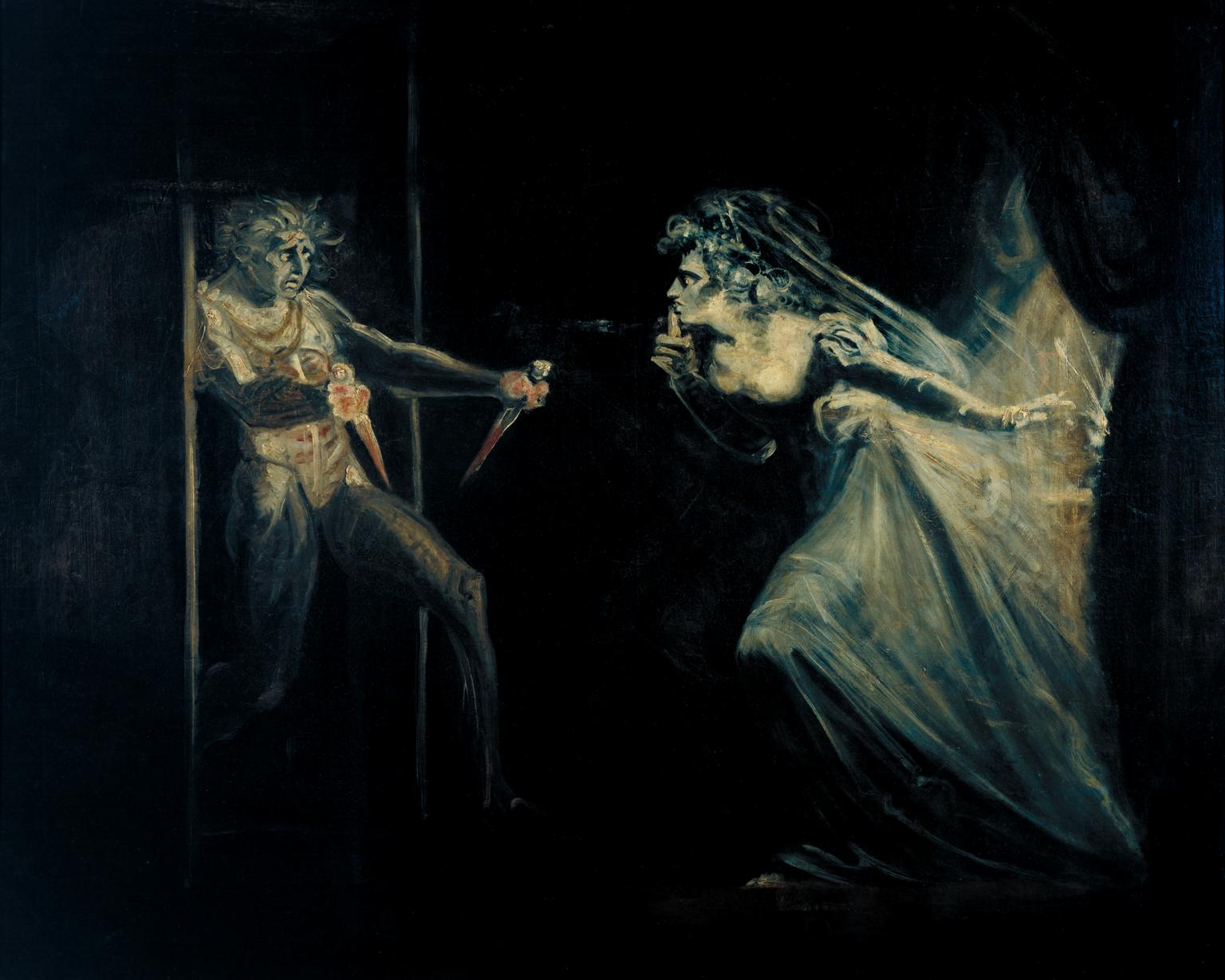 Lady Macbeth Seizing the Daggers ?exhibited 1812 by Henry Fuseli 1741-1825